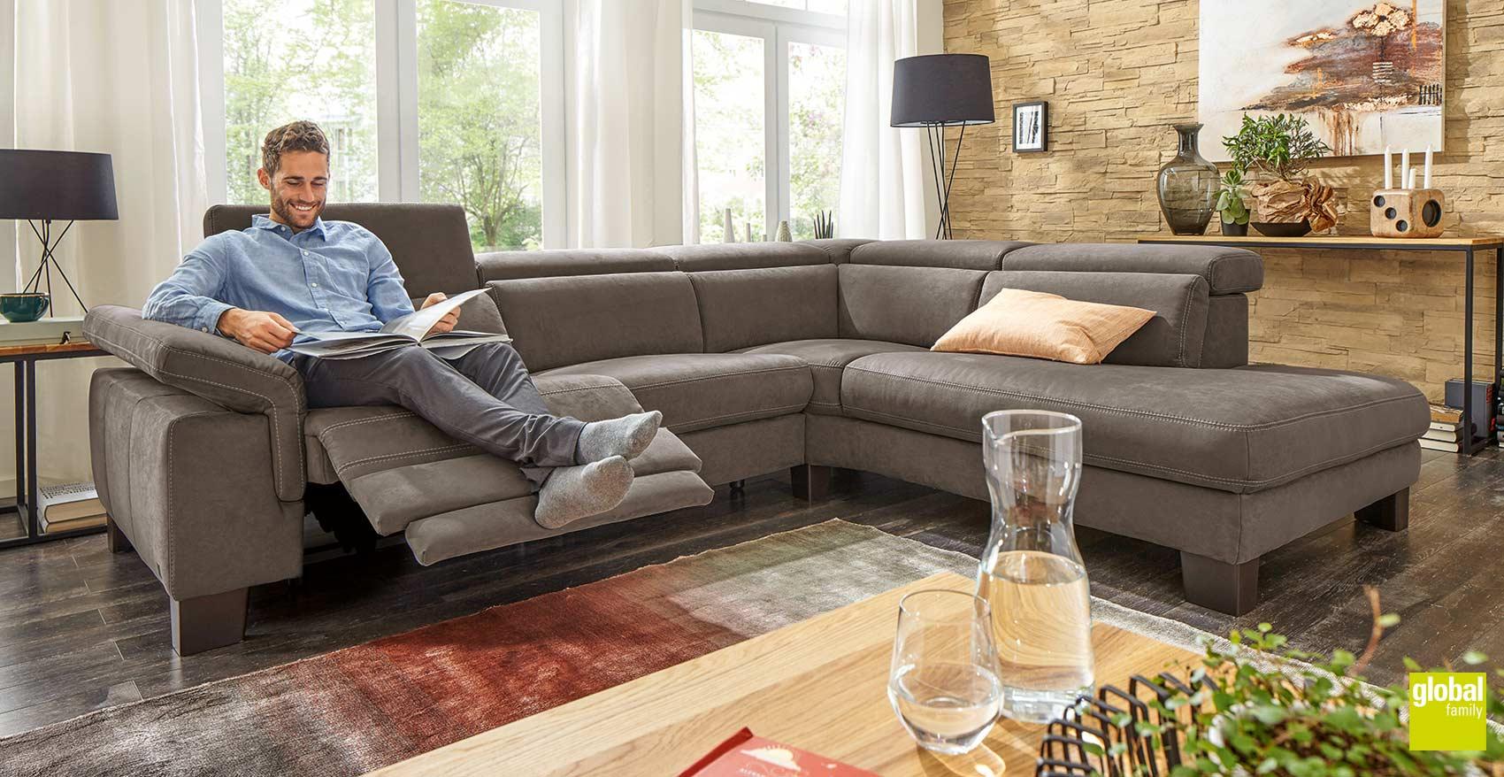 polsterm bel relaxsessel von global wohnen in On polstermöbel dresden
