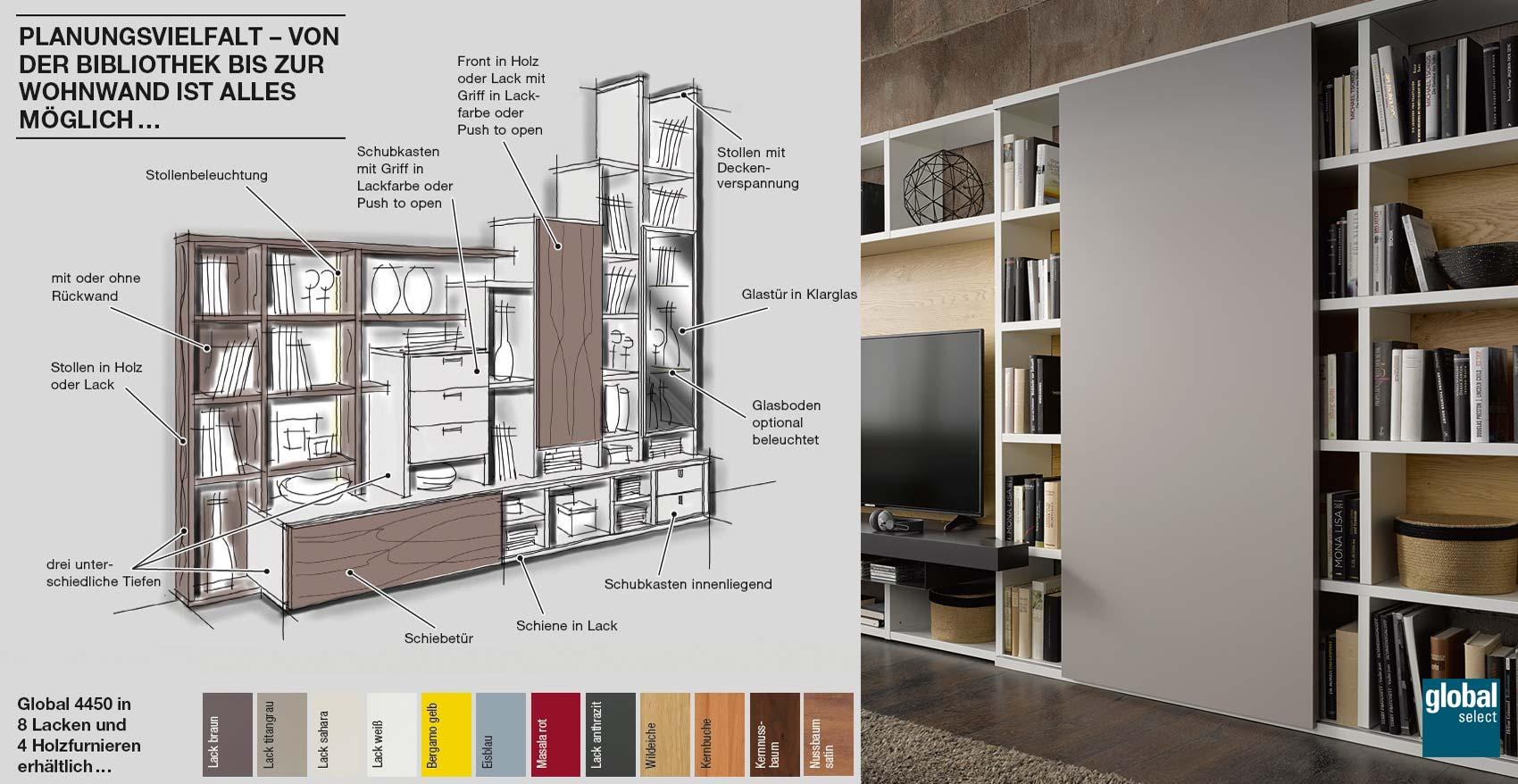 global 4450 von global wohnen in hammerau nahe freilassing und salzburg m bel reichenberger. Black Bedroom Furniture Sets. Home Design Ideas