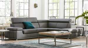 Polster sofas relaxsessel von natura einrichten in for Sofa natura 6650