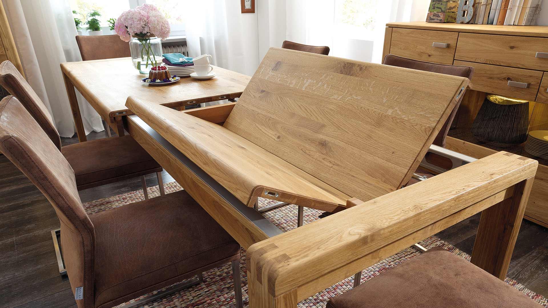 esstisch natura cartago design. Black Bedroom Furniture Sets. Home Design Ideas